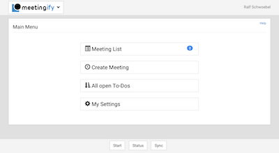 agenda app run meetings on all devices